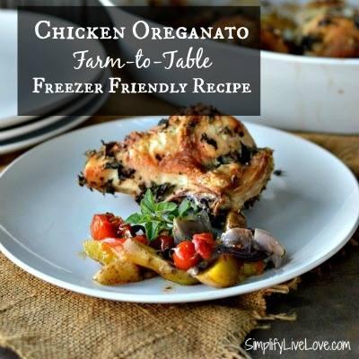 Chicken Oreganato Recipe - SimplifyLiveLove