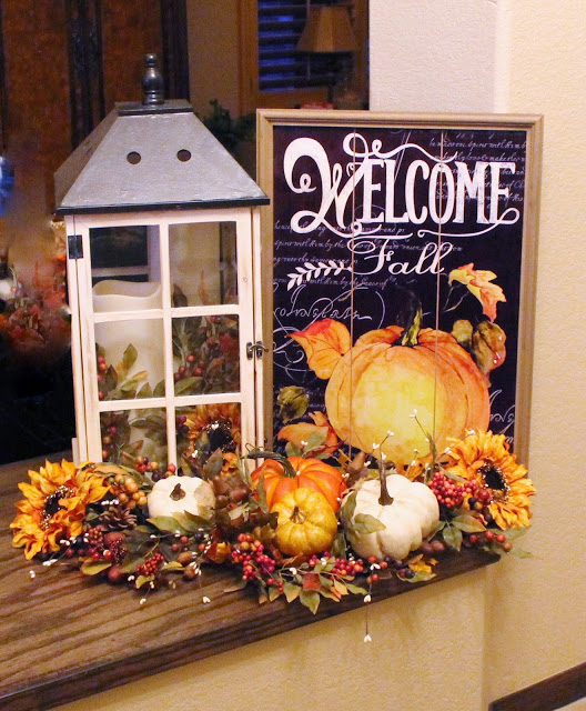 Entryway Fall Decor | Southern Seazons