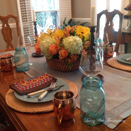 One Fall Centerpiece | Living With Thanksgiving