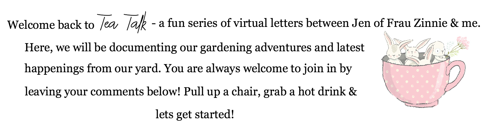 Notes From A Garden Wanderer | angiethefreckledrose.com