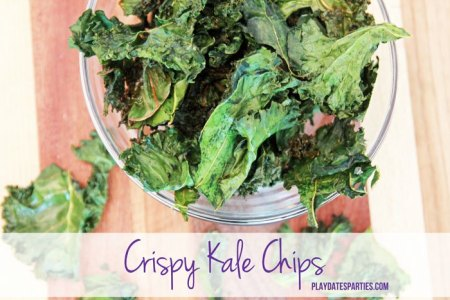 Crispy Kale Chips Recipe | From Play Dates To Parties