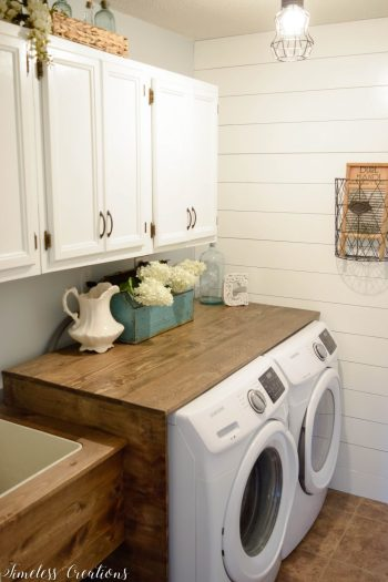 Laundry Room Reveal | Timeless Creations