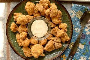 Crispy Oven-Fried Cauliflower | A Little Fish in the Kitchen