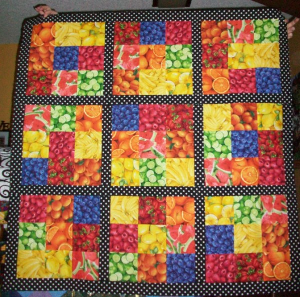 Quilt #1 - Fruit Soduku
