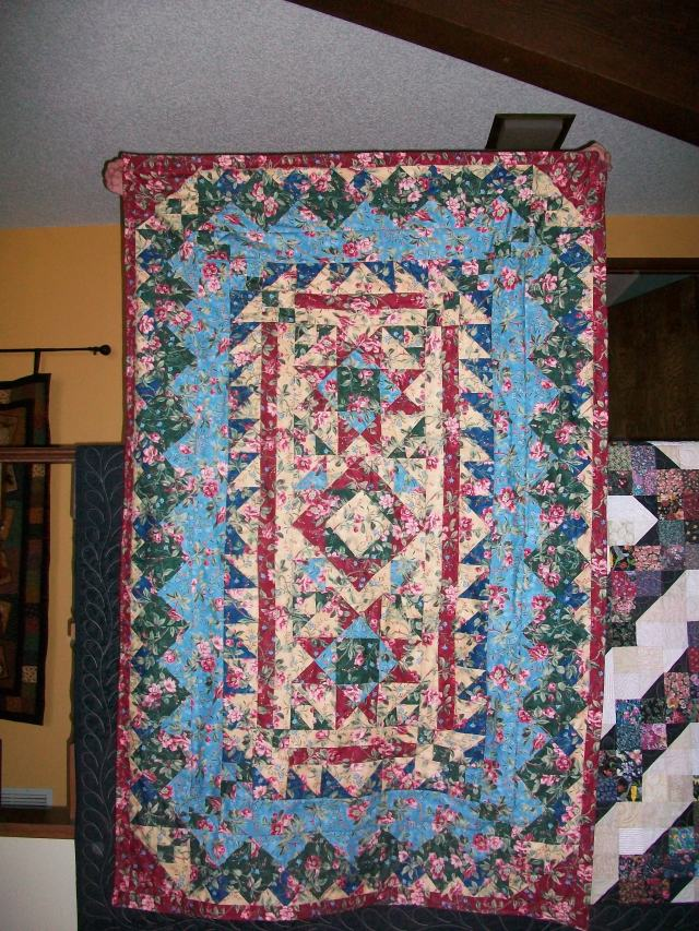 Mountain Mystery Quilt made with Tehachapi Mountain Quilters 2013