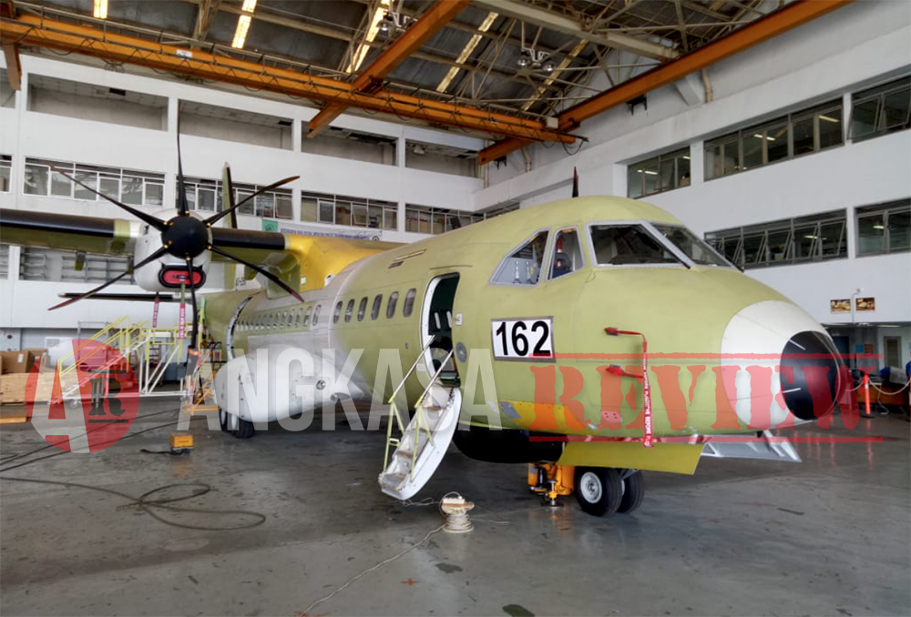 CN295 MPA Pesanan TNI AU Akan Diserahkan PTDI Akhir November 2018