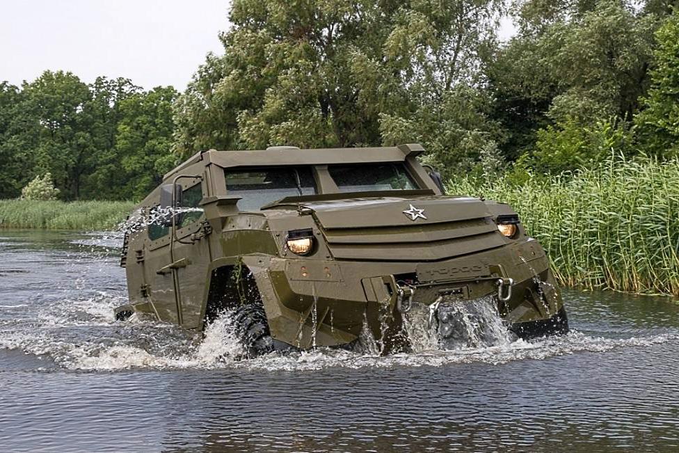 UAMZ Toros 4x4, Banteng Baja Tunggangan Pasukan lintas Udara Rusia