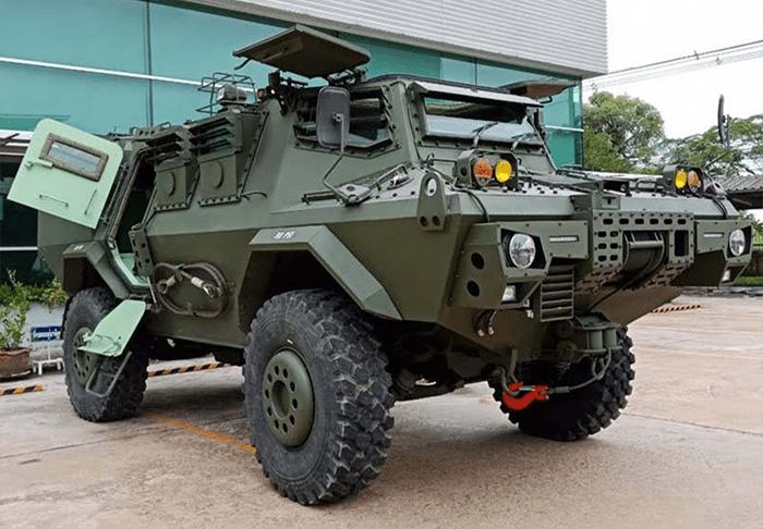 Panus Tawarkan HMV-420, Calon Pengganti Panser V-150 Militer Thailand