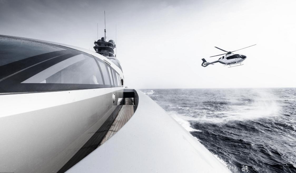 Penampakan ACH135 Helionix Terbaru Tampil Perdana di Monaco Yacht Show