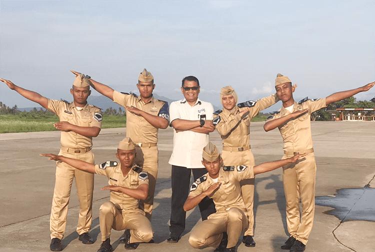 Ketua STPI Curug Sampaikan Kuliah Umum Keselamatan Penerbangan di BP2 Penerbang Banyuwangi