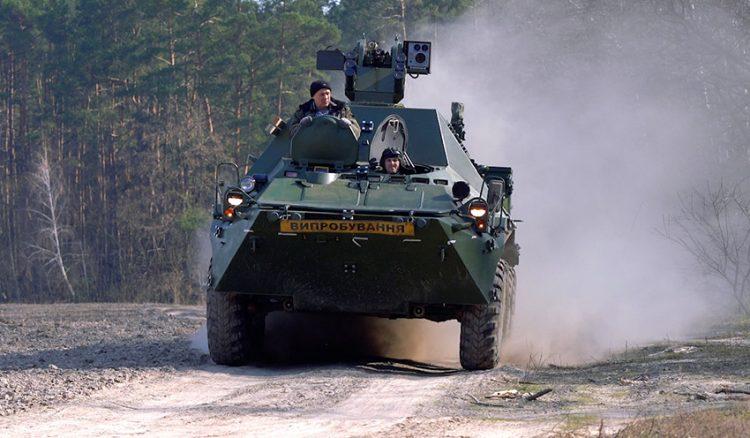 Ukraina Kembangkan Ranpur Komando Terbaru BTR-3KSh