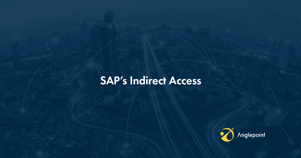 5 Things You Absolutely Need to Know About SAP's Indirect