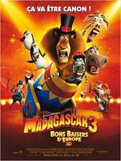 Madagascar 3 - affiche