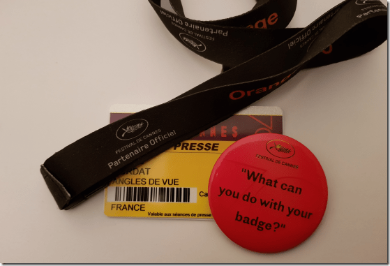 badges cannes