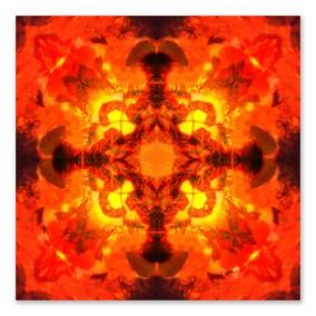 Fire Elemental mandala full image