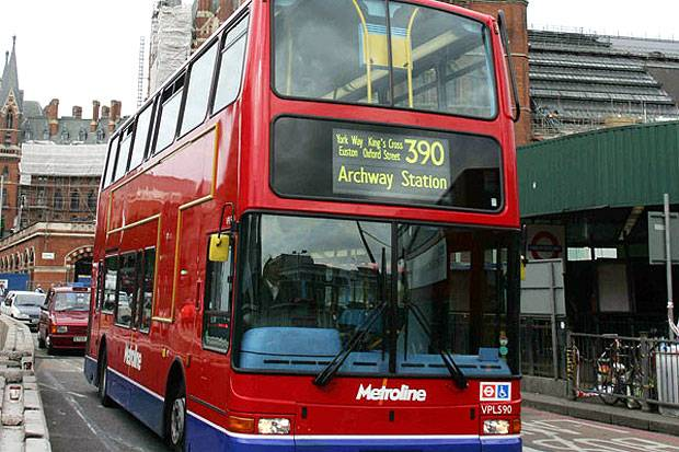 busz sofőr anglia