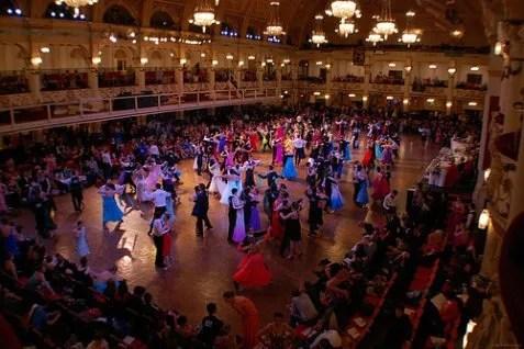 tánc verseny Blackpool