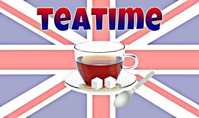 teázás angliában