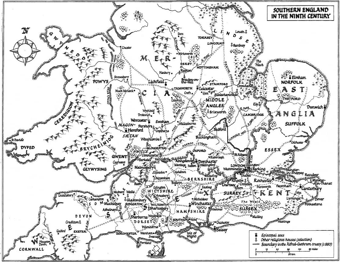 Anglo Saxons Southern England In The Ninth Century