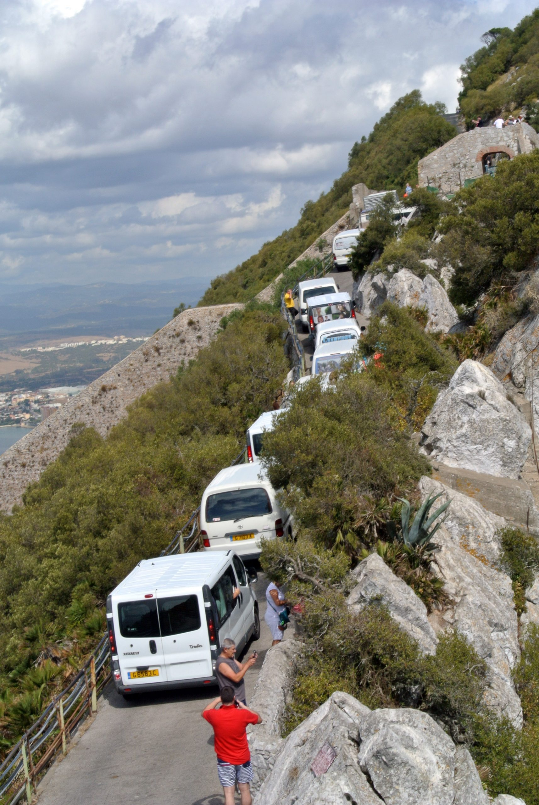 Guest Long Read Exploring Gibraltar A Little Piece Of Britain In England Thoughts On The British Electrical Outlets Anglotopianet Taxi Cabs Lined Up Rock