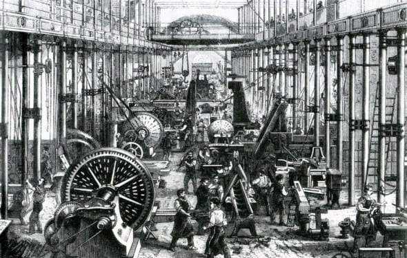 The first industrial revolution in great britain
