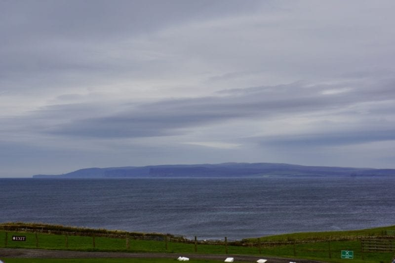 View from Castle of Mey