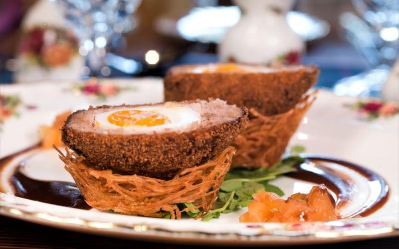Balmoral Restaurant's Scotch Eggs