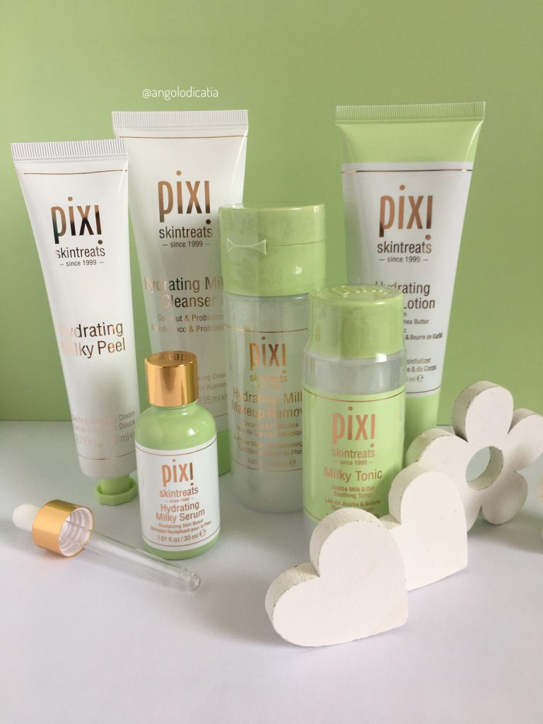 Hydrating Milky Collection by Pixi – Skin-care coreana tutta al naturale