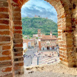 Marostica: Castello Inferiore e il Sentiero dei Carmini