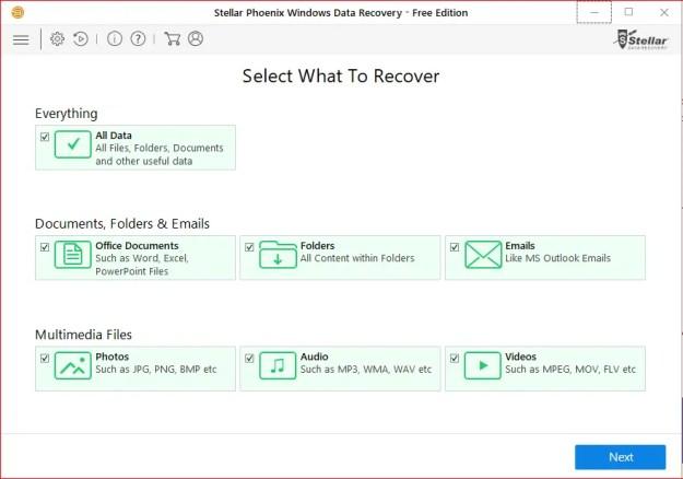 2 Primo avvio - Recensione di Stellar Phoenix Windows Data Recovery + Sconto!