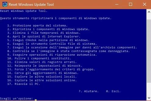 rut02 - FIX: Come resettare Windows Update in caso di problemi