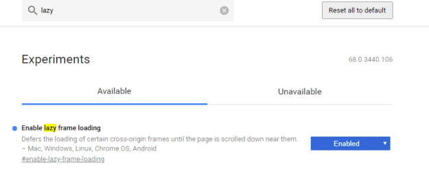 chrome stable 68 - Chrome: come rendere più veloce il caricamento delle pagine