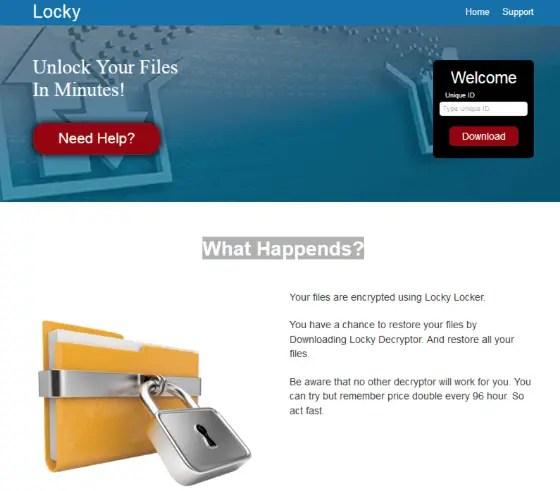 pylocky ransomware 2 1 - Nuovo ransomware PiLocky diffuso tramite campagne email malevole