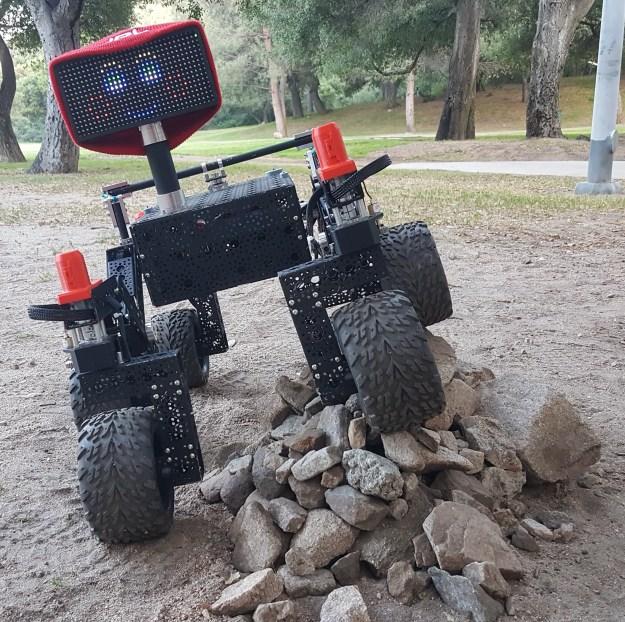 rover climbing - Come costruire il rover della NASA con Rasberry PI