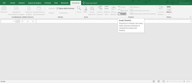 excel03 - FIX: Excel non apre i file e mostra un file vuoto