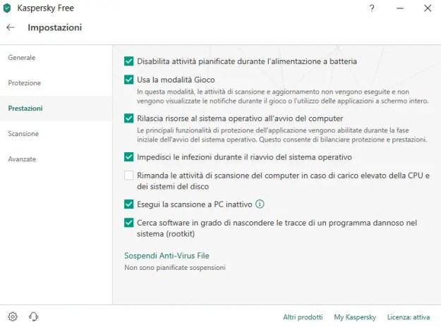 kaspantivstrum02 2 - Recensione Kaspersky Free Antivirus