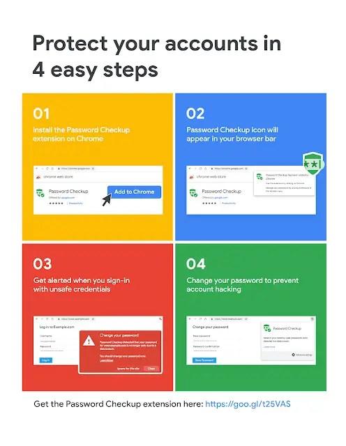 password checkup extension how to 3 2 - Google pubblica un estensione per controllare le password compromesse