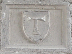 Tau templare a Viterbo