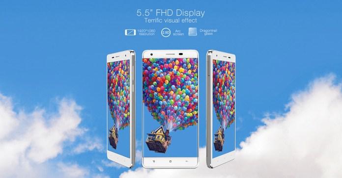 oukitel k6000 pro screen