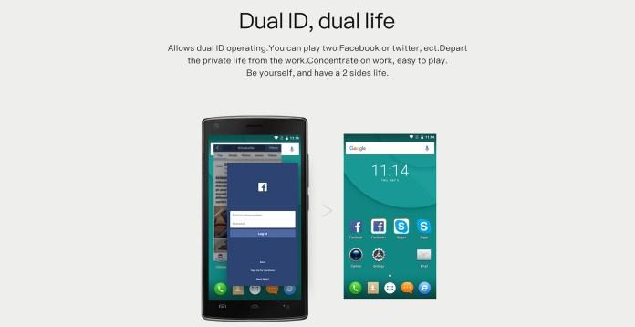 dual id