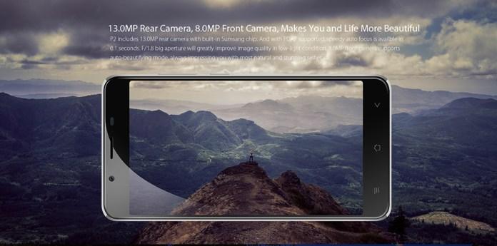 blackview p2 camera