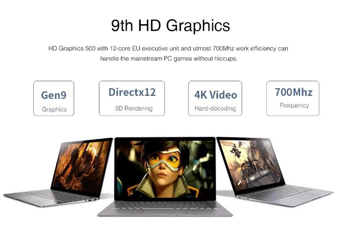 Chuwi Lapbook air GPU