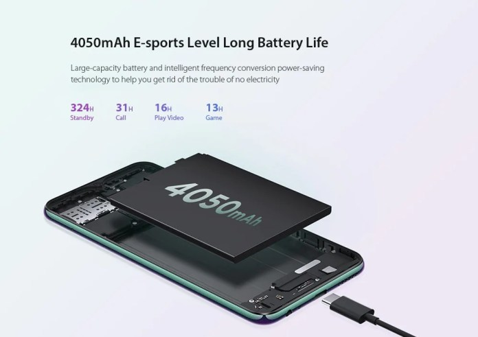 Lenovo z6 lite battery