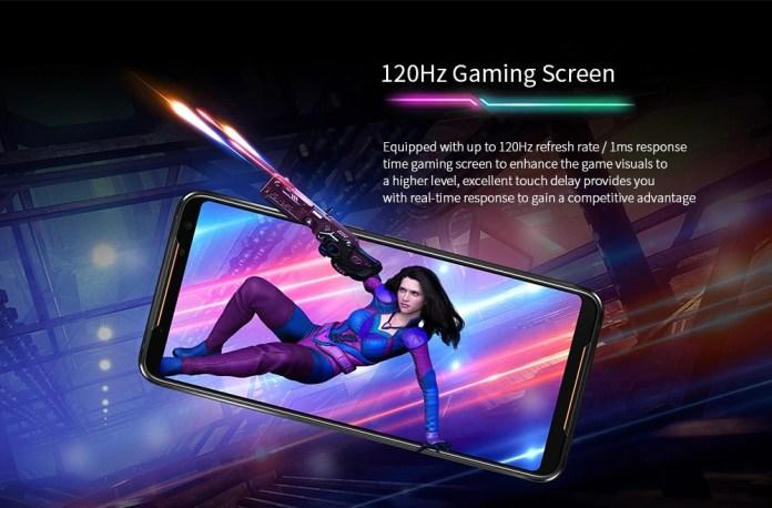 ASUS ROG PHONE 2 refresh rate screen