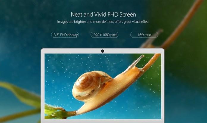 Jumper Ezbook 3 Pro screen