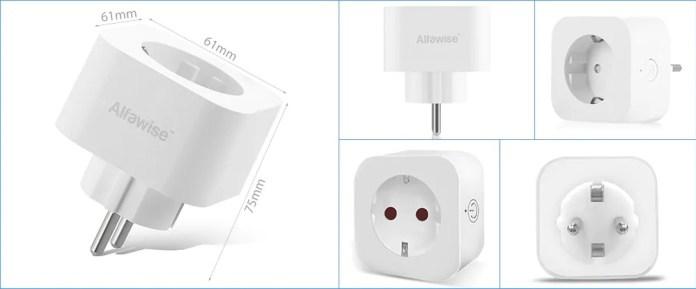 Alfawise PE1004T Smart Plug looks