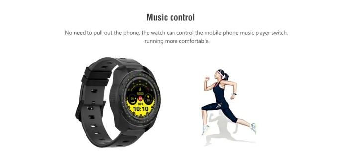 Bilikay KW01 Smartwatch music control