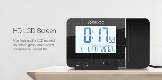 Digoo DG-C10 alarm clokc
