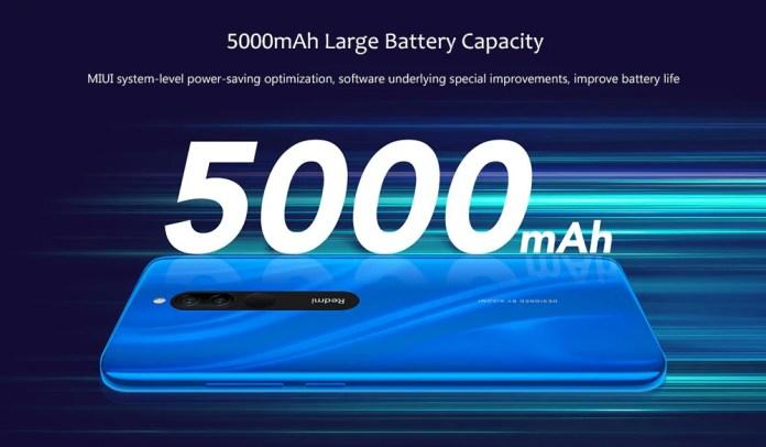 Redmi 8 smartphone battery