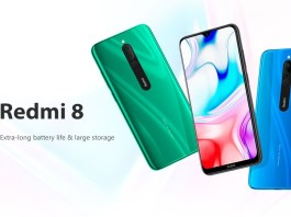 Redmi 8 smartphone